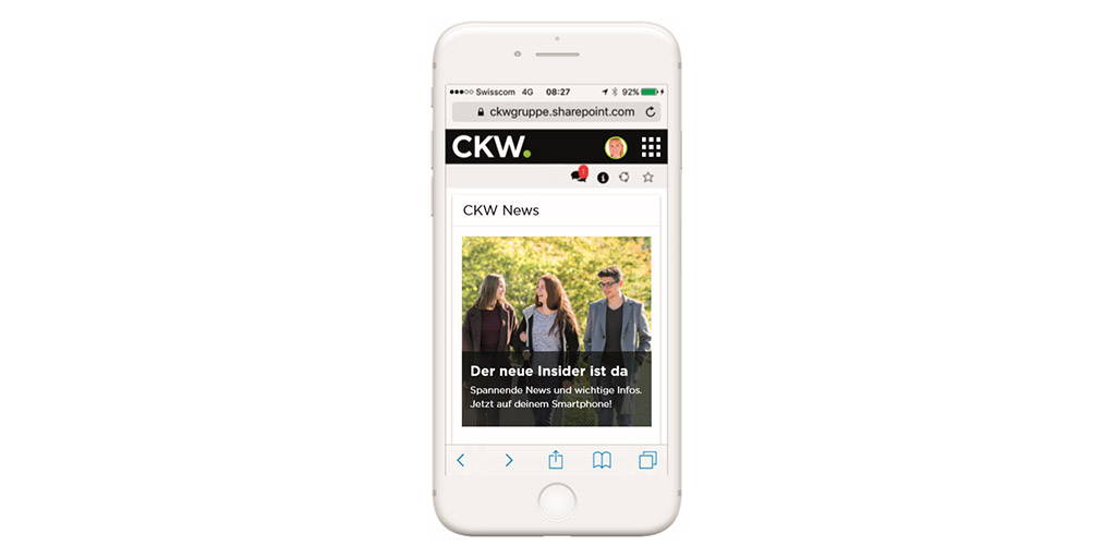 CKW Intranet Mobile